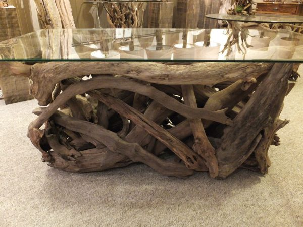 Driftwood hand crafted table made in Navan Ontario